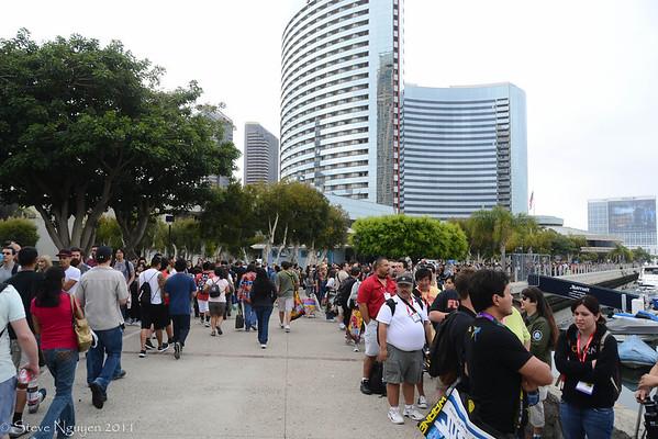 Comic Con 2011 Thursday